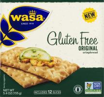 WASA Gluten Free Original Crispbread - 12 CT