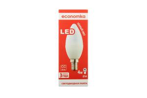 Лампа світлодіодна Economka LED CN 4W E14 2800K 1шт