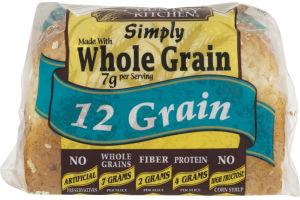 Country Kitchen Simply Whole Grain 12 Grain Bread