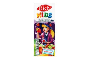 Нектар з банана, полуниці і яблук Rich Kids т/п 200мл
