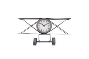 Часы настольные Самолет металические в ассорт Y*1
