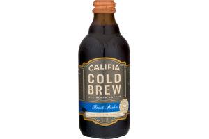 Califia Cold Brew All Black Coffee Black Mocha