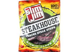 Slim Jim Smokehouse Tender Steak Strips Kickin' Carne Asada