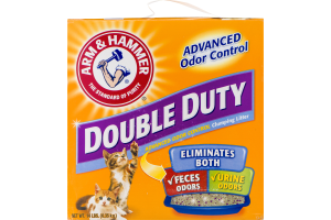 Arm & Hammer Double Duty Advanced Odor Control Clumping Litter