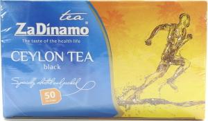 Чай черный цейлонский ZaDinamo к/у 50х2г