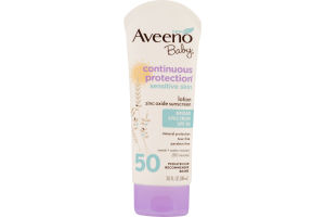 Aveeno Baby Continuous Protection Sunscreen SPF 50