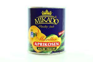 Абрикос половинки в сиропе Mikado 850мл