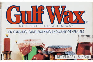 Gulf Wax Household Paraffin Wax