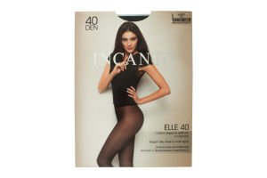 Колготки женские Incanto Elle 40den 4-L nero
