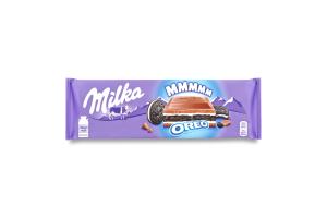 Шоколад Milka зі шматочками печива ОРЕО 300г