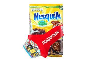 Промо-набір Сніданок сухий з вітамінами та мінеральними речовинами Nesguik м/у 460г+Тарілка 1шт