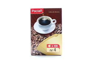 Фільтр для кави Paclan №4 100шт х18