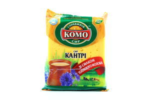 Сир Кантрі зі смаком топленого молока 50% 230г Комо