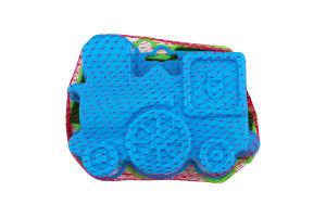 Іграшка для дітей від 3років №2587 Формочки Пісочниця Polesie 1шт