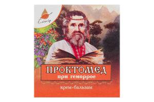 Крем-бальзам Проктомед Еліксір 10мл