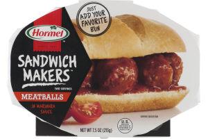 Hormel Sandwich Makers Meatballs in Marinara Sauce