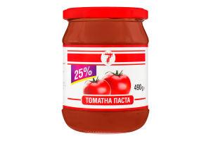 Паста томатная 25% 7 с/б 490г