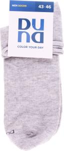 Шкарпетки чоловічі Color your day Duna світло-сірі 27-29