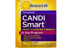 Renew Life Candi Smart Yeast Cleansing