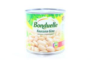 Фасоль белая в нежном соусе Bonduelle ж/б 400г