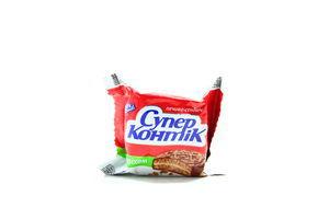 Печенье-сэндвич молочное с орехом Супер-Контик Кonti м/у 50г
