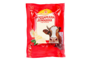 Сыр 45% мягкий Моццарелла Домашняя Новгород-Сіверський м/у 155г