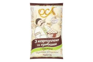 Вареники с картофелем и грибами Премиум Оса м/у 700г