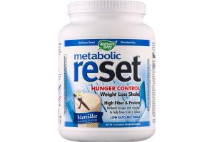 Nature's Way Metabolic Reset Hunger Control Weight Loss Shake Vanilla
