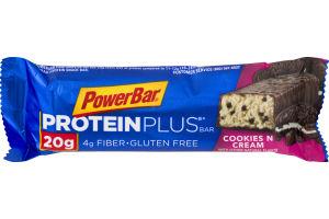 PowerBar 20g Protein Plus Bar Cookies N Cream
