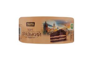 Торт бісквітний Празький Tarta к/у 500г