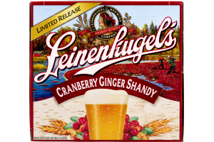 Leinenkugel'a Cranberry Ginger Shandy - 12 PK