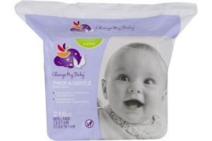 Always My Baby Baby Wipes Thick & Gentle Scented - 216 CT