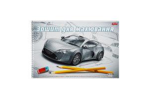 Зошит для малювання 30 аркушів на спіралі №6-2-30-20В-3157-О-К-СП Мрії збуваються 1шт