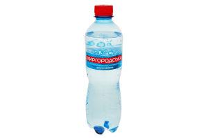 Вода минеральная сильногазированная Миргородська п/бут 0.5л