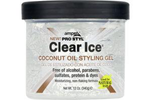 Ampro Pro Styl Clear Ice Coconut Oil Styling Gel