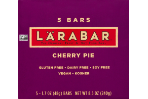 Larabar Fruit & Nut Food Bar Cherry Pie - 5 CT