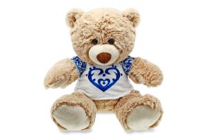 Іграшка м'яка для дітей від 3років №098 Ведмідь Bobby Stip 1шт