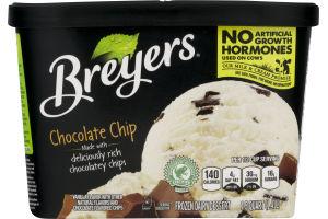 Breyers Ice Cream Chocolate Chip