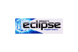 Резинка жевательная без сахара с ароматом мяты и ментола Ледяная свежесть Eclipse м/у 14г