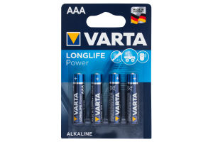 Батарейки Varta HIGH Energy AAA BLI 4 ALKALINE 4 шт.