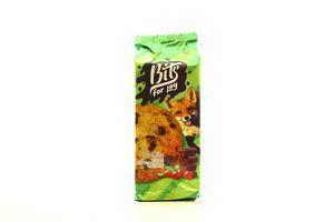 Печиво Bits for joy з мол.шоколадом та журавлиною 100г х12