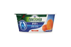 Крем творожный 0.2% нежирный Курага Лактонія ст 140г