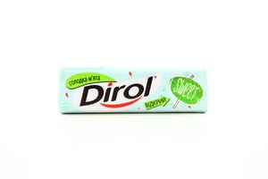 Жевательная резинка Сладкая мята Dirol 13,6г