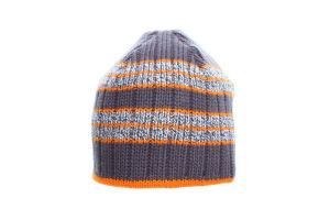 ESLI шапка дитяча 15С-35СП р.54 сірий-оранжевий
