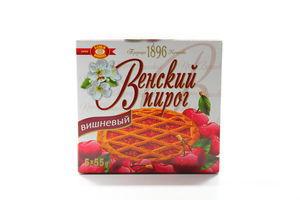 Пирог ХБФ Венский вишневый к/у 275г