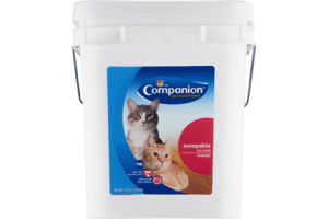 Companion Cat Litter Scoopable Scented