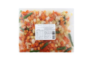 Суміш овочева швидкозаморожена Овочі для яєчні Агродар-Україна Плюс м/у 400г