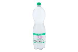 Вода мінеральна слабогазована Geo Natura п/пл 1.5л