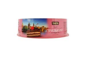 Торт бисквитный с вишней Пражский Tarta к/у 1кг