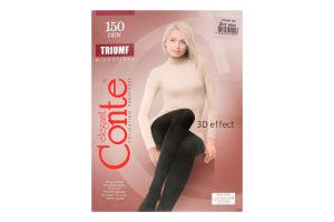 Колготки жіночі Conte Triumf №8С-57СП 150den 2-S nero